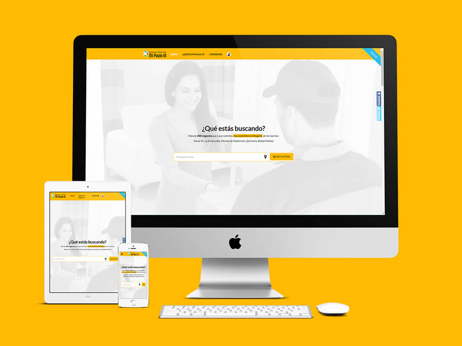 Mi Paulo VI, diseño de página web responsive en WordPress
