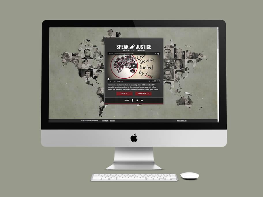 CPJ, diseño de página web en HTML5