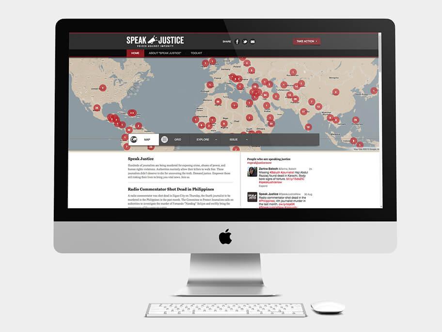 CPJ, página de Inicio, computador