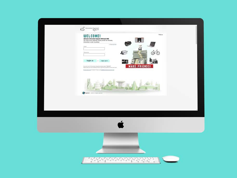 Generation Cognizant, diseño de página web en HTML5