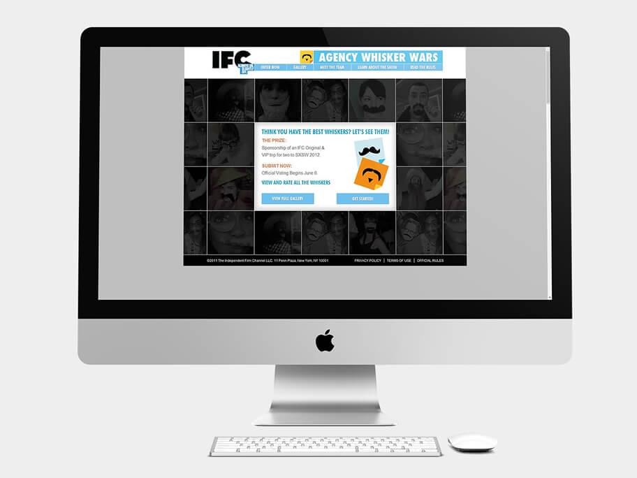 IFC, página de Inicio, computador