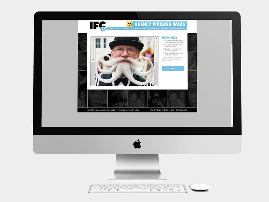 IFC, página de Editor de Foto, computador