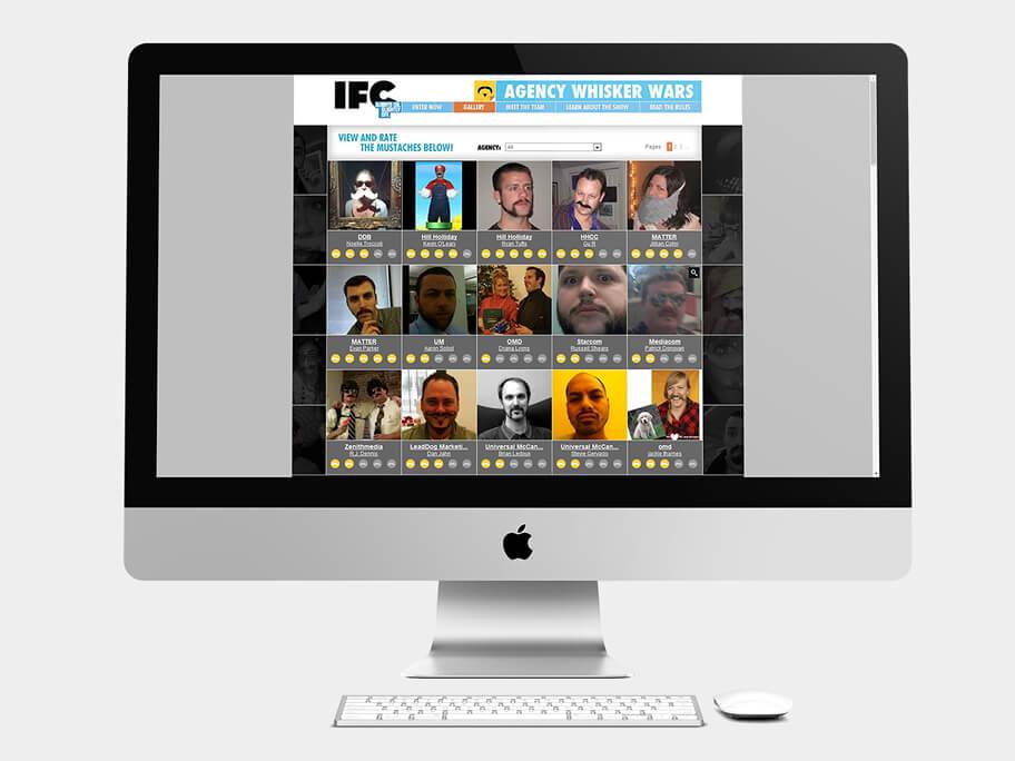 IFC, página de Galería de Fotos, computador