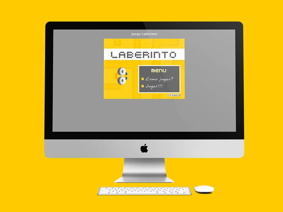 Juego Laberinto, diseño de juego en Flash