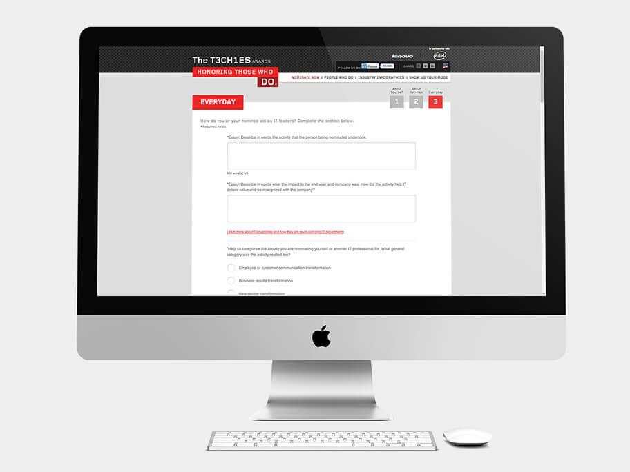 Lenovo Thinkpad, página de Motivo de Nominación, computador