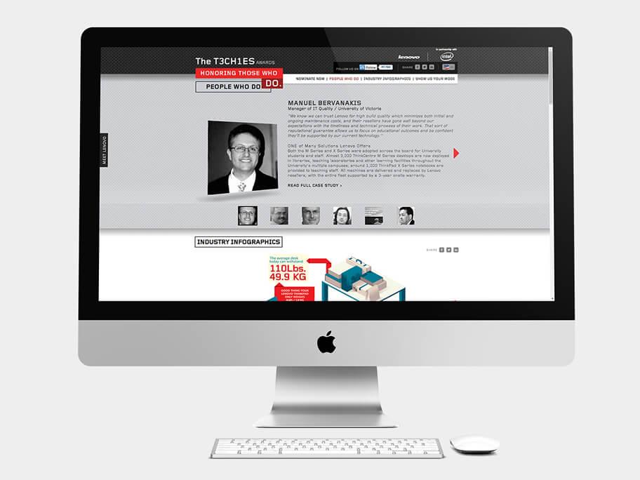 Lenovo Thinkpad, página de Hacedores, computador